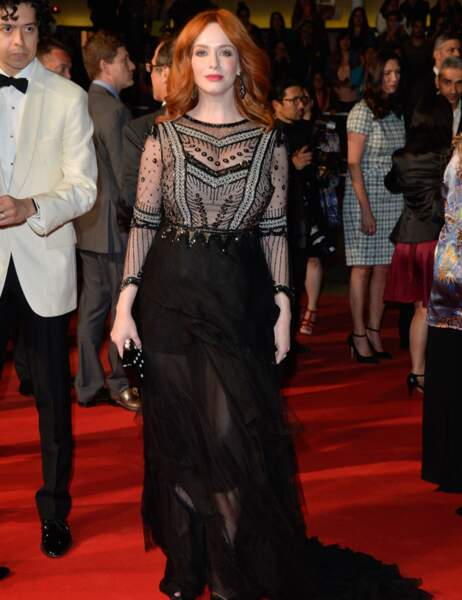 Christina Hendricks, une bombe sur le red carpet