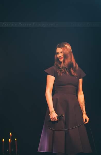 Concert de Michal : Elodie Frégé