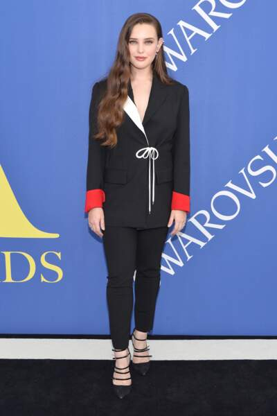 Katherine Langford (13 Reasons Why) aux CFDA Fashion Awards 2018