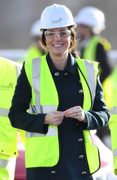 Kate Middleton et le prince William en visite à Sunderland