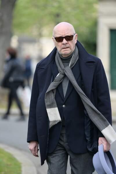 Jean-Paul Rappenau aux obsèques d'Agnès Varda au cimetière du Montparnasse