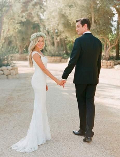 Ashley Tisdale et Christopher French