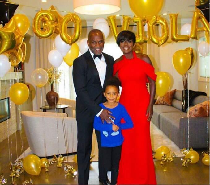 Viola Davis : sa famille a explosé le budget ballons et hélium pour la soutenir