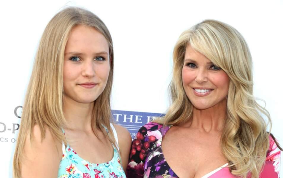 Christie Brinkley et sa fille Sailor