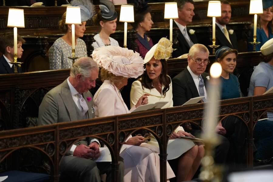 Le prince Charles, Camilla Parker Bowles et Kate Middleton