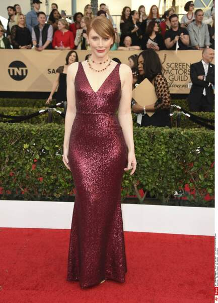 SAG Awards 2017 : Bryce Dallas Howard