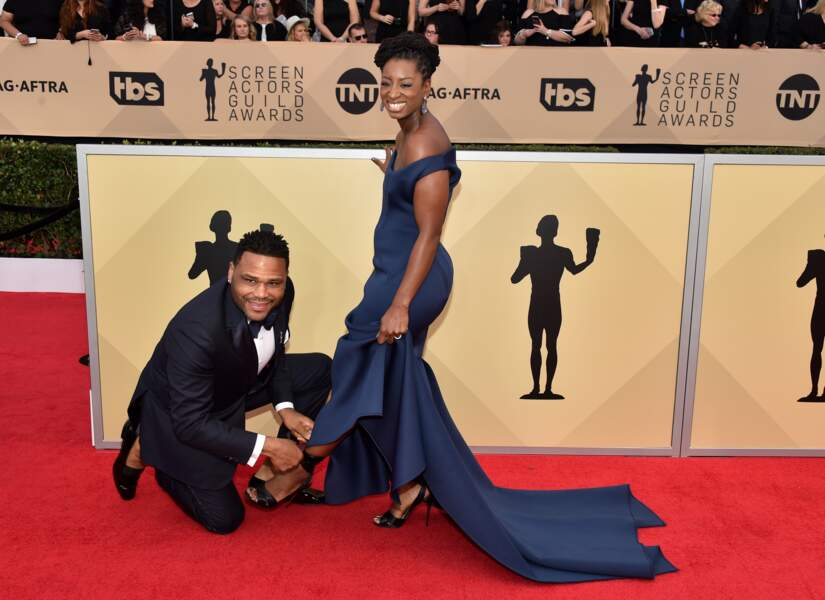 Anthony Anderson aux SAG Awards