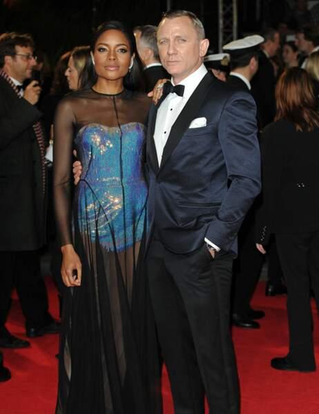 Daniel Craig et Naomi Harris