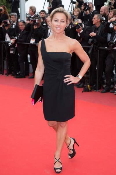 La 8e place revient à Anne-Sophie Lapix. 11,4% des Français s'envoleraient bien en vacances avec l'animatrice