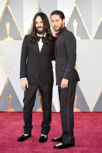 Alessandro Michele et Jared Leto