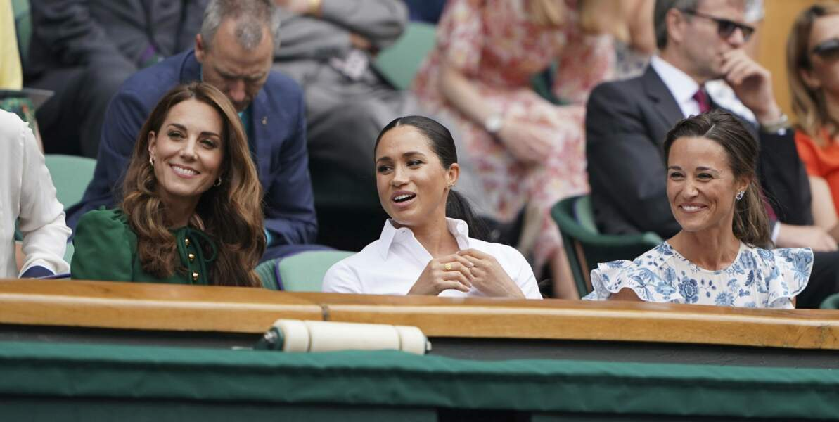 Kate Middleton, Meghan Markle et Pippa Middleton
