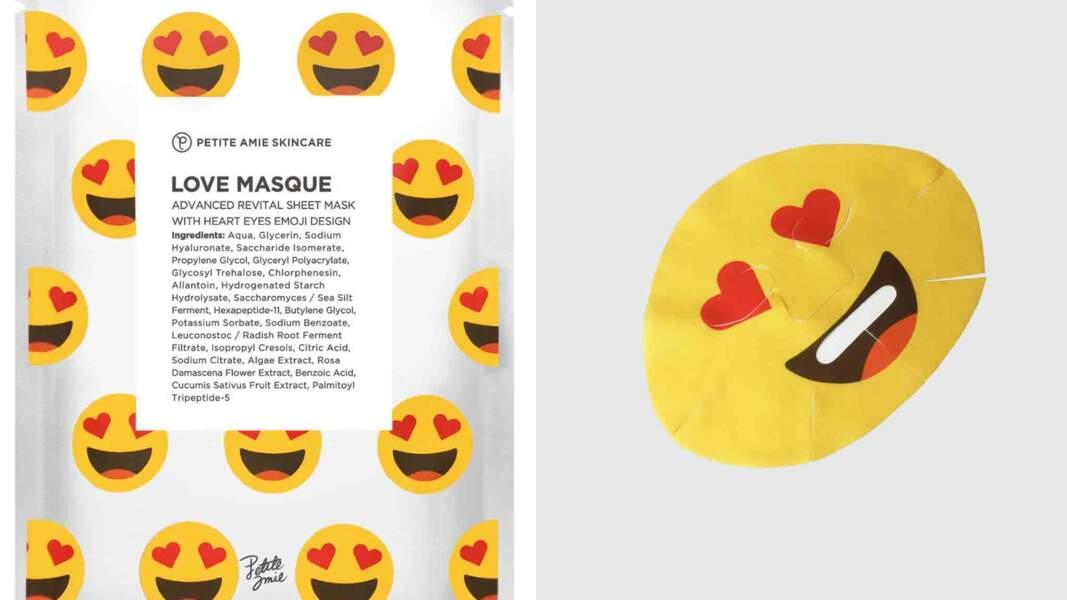 Love Masque, 6,50 €, Petite Amie Skincare chez Sephora et sur sephora.fr