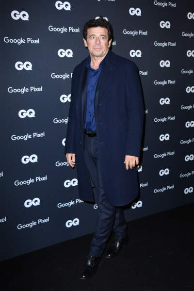 GQ Men Of The Year Awards 2018 : Patrick Bruel