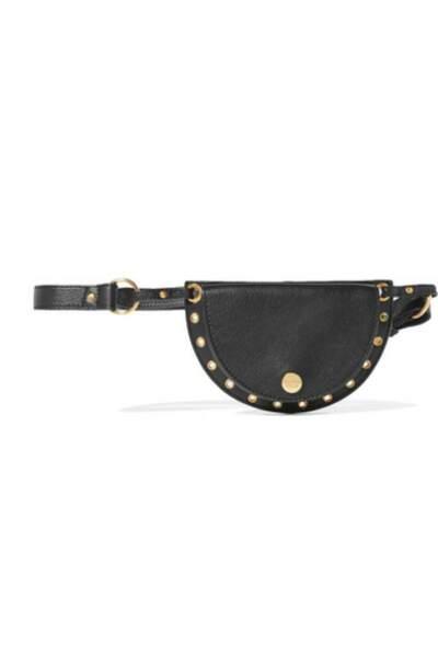 Le retour du sac banane : Sac ceinture convertible en cuir à oeillets, See by Chloé, 235 euros sur net-a-porter