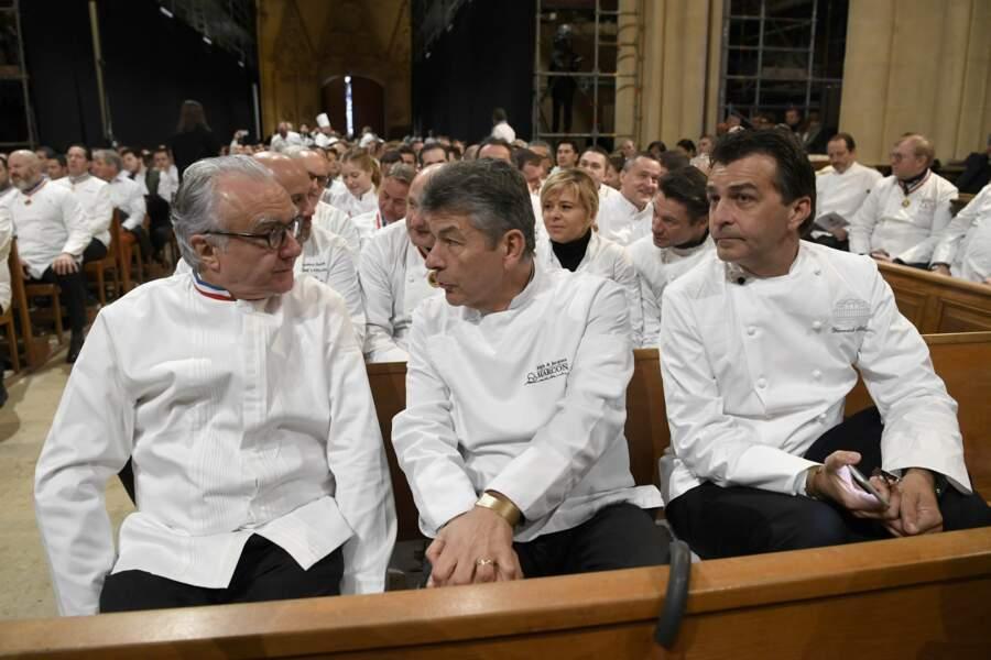 Alain Ducasse, Regis Marcon et Yannick Alleno
