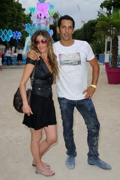 Tomer Sisley et sa femme