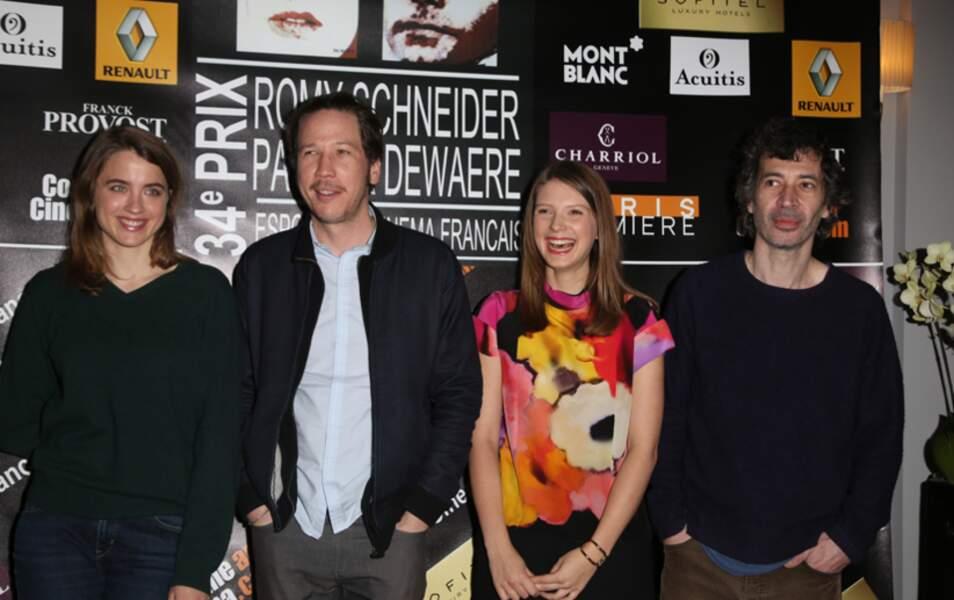 Nominés prix Patrick Dewaere / Romy Schneider au Sofitel Faubourg