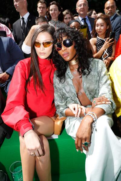 Fashion week Hommes, défilé Louis Vuitton : Bella Hadid et Naomi Campbell