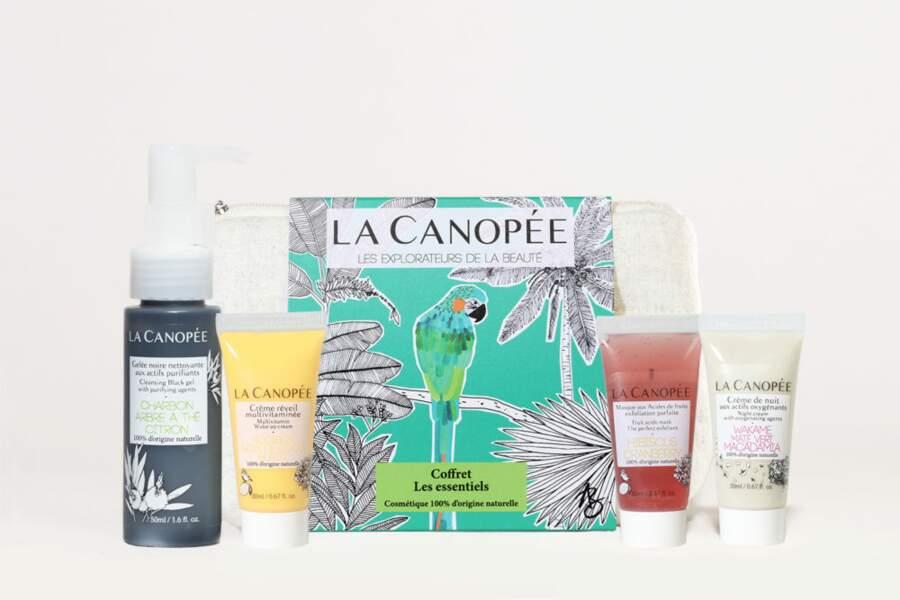 Le coffret Les essentiels, La Canopée, 38€
