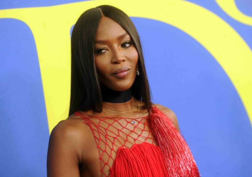 Naomi Campbell aux CFDA Fashion Awards 2018