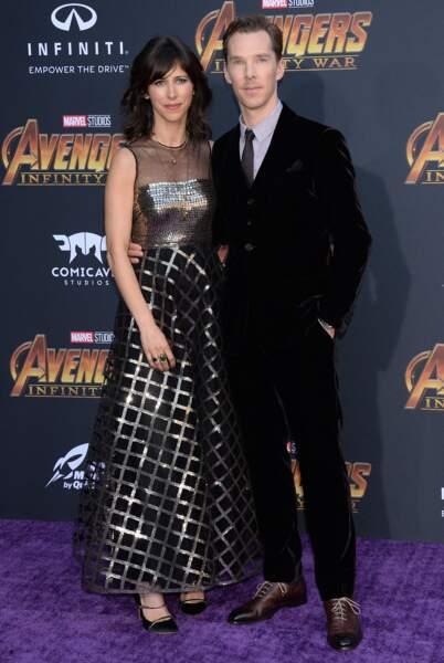 Première mondiale d'Avengers: Infinity War - Sophie Hunter et Benedict Cumberbatch