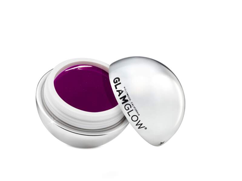 Baume pour les lèvres teinté Poutmud Sugar Plum, 19,90 €, Glam Glow chez Sephora.