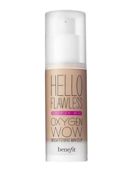 Fond de teint Hello Flawless Oxygen Wow, Benefit Cosmetics sur Sephora, 28,30 euros au lieu de 40,50 euros