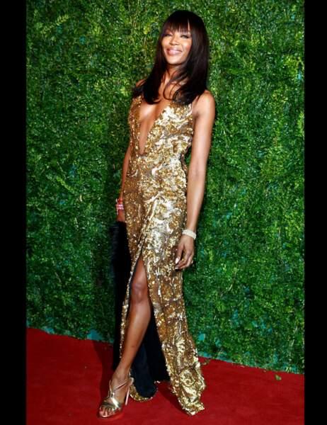 La toujours aussi sublime Naomi Campbell
