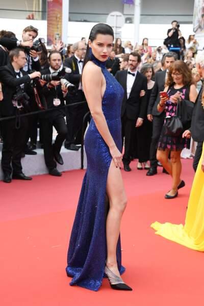 Adriana Lima au Festival de Cannes 2019