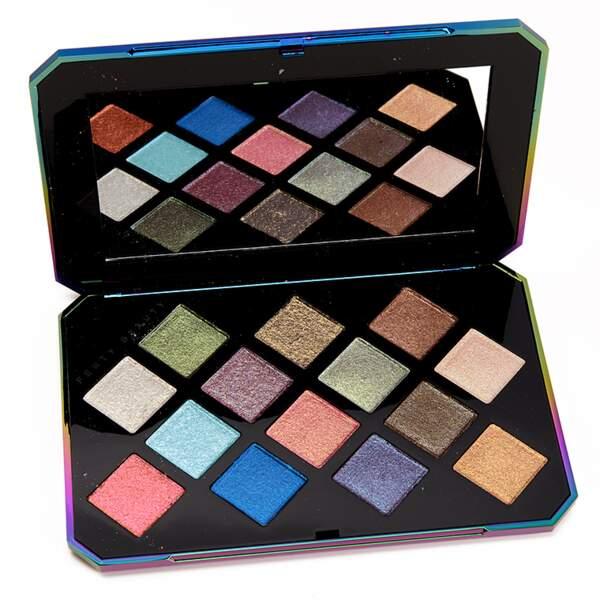 50 façons de briller : Galaxy Eyeshadow palette, Fenty Beauty by Rihanna, 54,95 euros