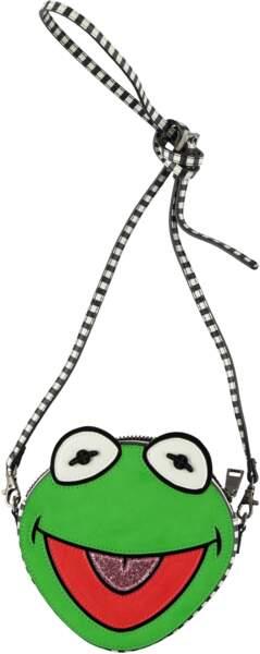 Pour les nostalgiques des Muppets, sac Kermit la grenouille, Essentiel Antwerp, 125€