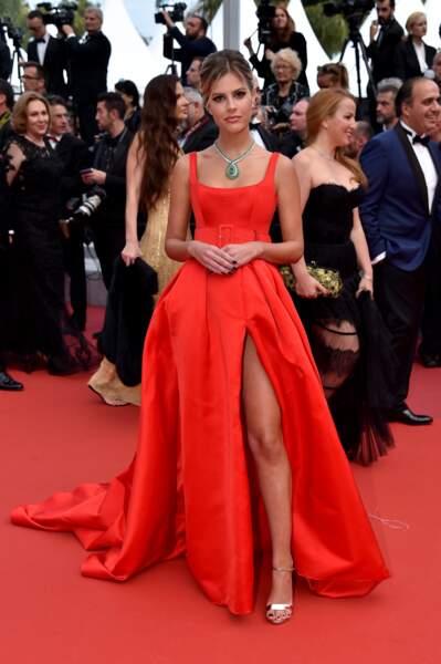 Lala Rudge au Festival de Cannes 2019