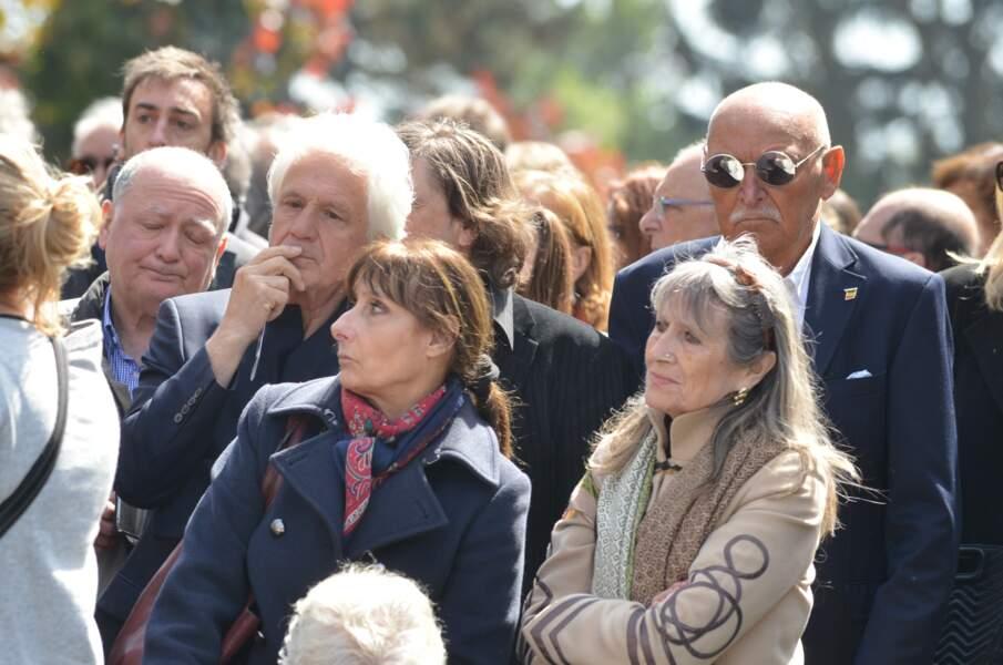 Obsèques de Maurane à Woluwe-Saint-Pierre en Belgique : Gérard Lenorman