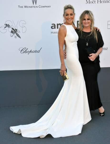 Sharon Stone et Kelly Stone