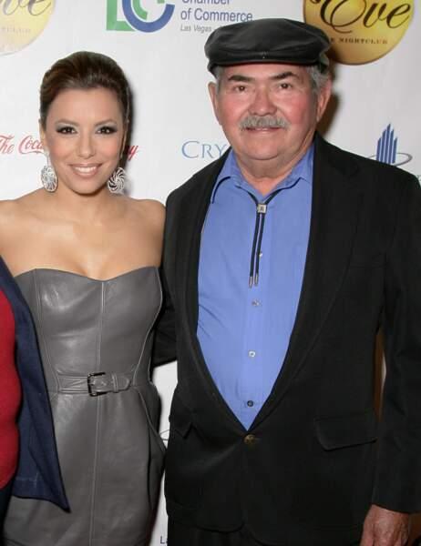 Eva Longoria et son papa