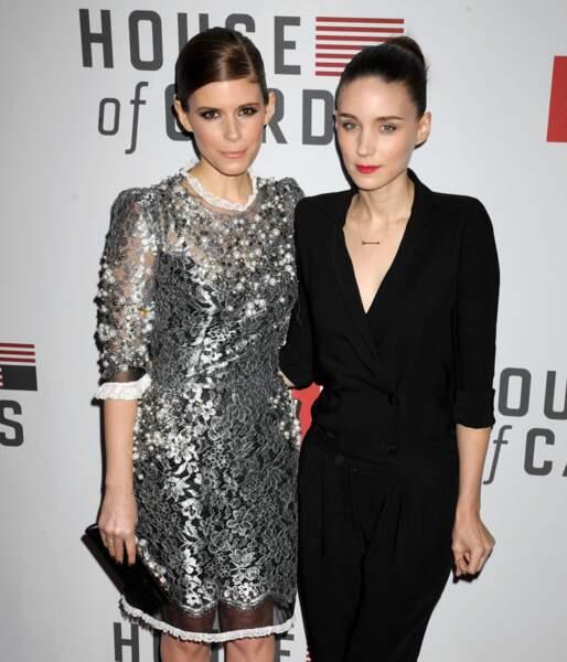 Kate et Rooney Mara ont à n'en pas douter un petit air de famille