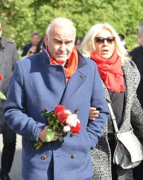 Obsèques de Maurane à Woluwe-Saint-Pierre en Belgique : Michel Fugain