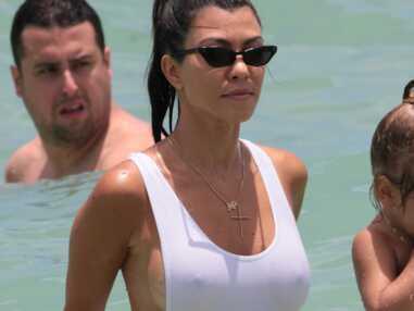 Kourtney Kardashian : ultra sexy à la plage, elle montre tout