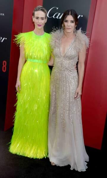 Sarah Paulson et Sandra Bullock