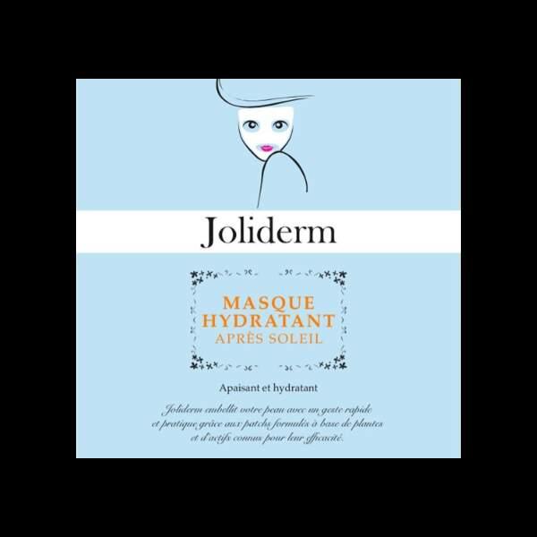 Masque hydratant après soleil, Joliderm, 10,90€