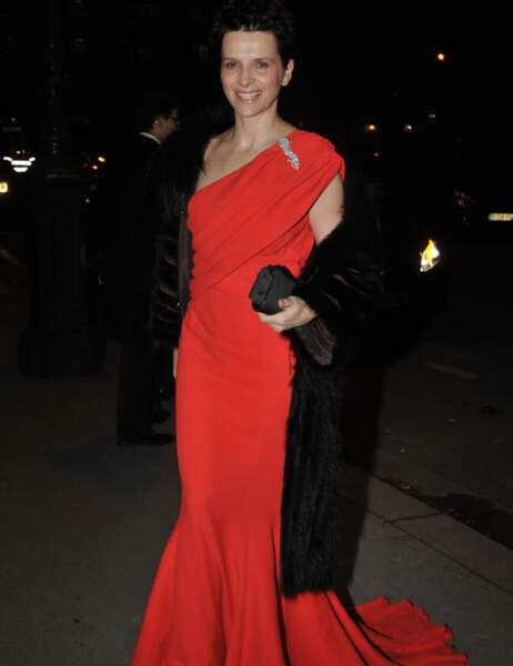 Juliette Binoche, reine des tapis rouges