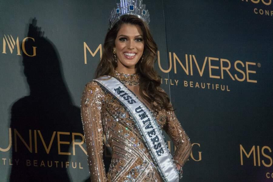 Iris Mittenaere est la nouvelle Miss Univers ! Cocorico