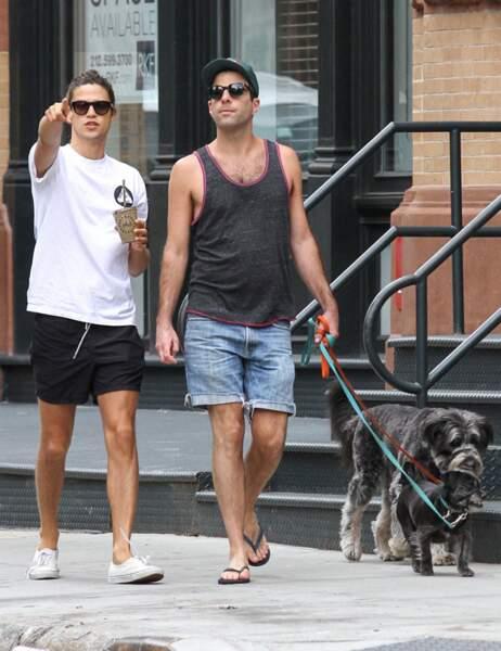 changement de spoke pour Zachary Quinto grâce à l'amour (avec son boyfriend à New York)