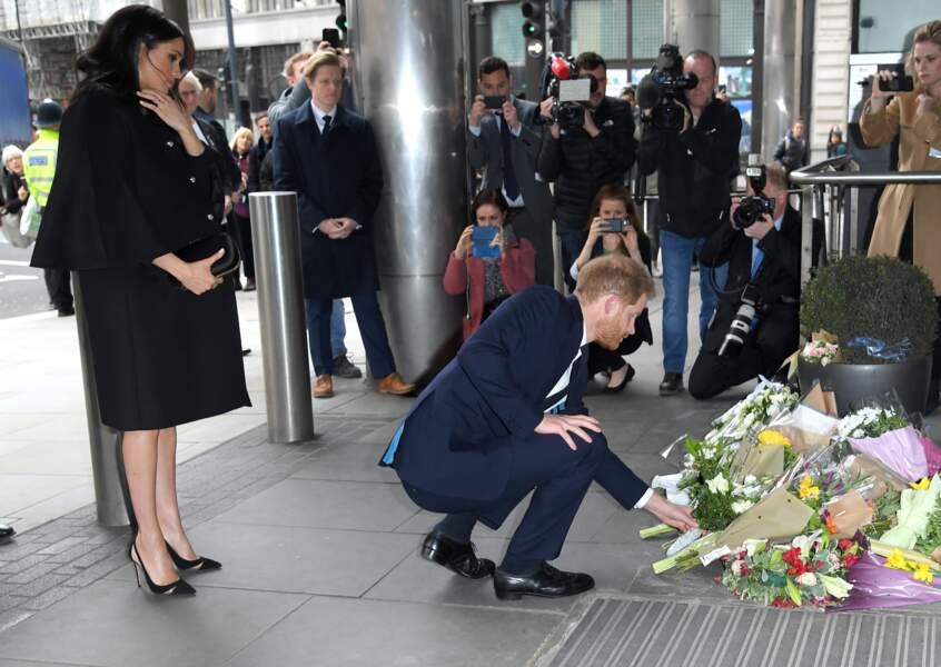 Meghan Markle oublie son congé maternité pour un hommage à l'ambassade de Nouvelle-Zélande