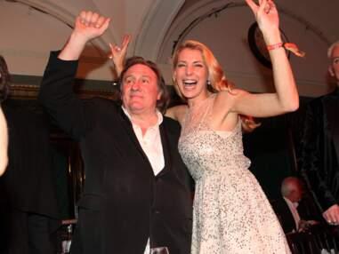 Gérard Depardieu débordant d'affection pour une soirée inoubliable