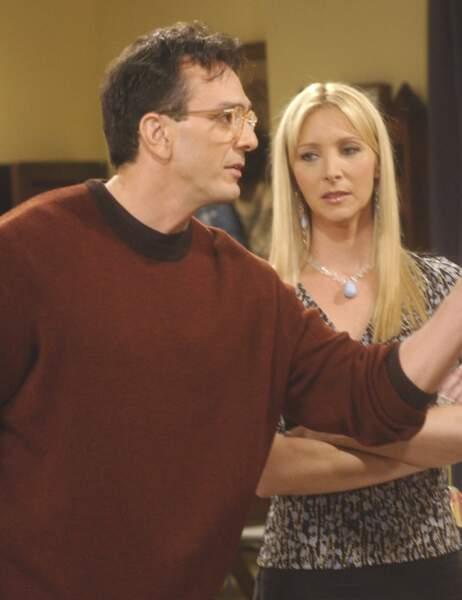 Phoebe avait fondu pour David, son scientifique