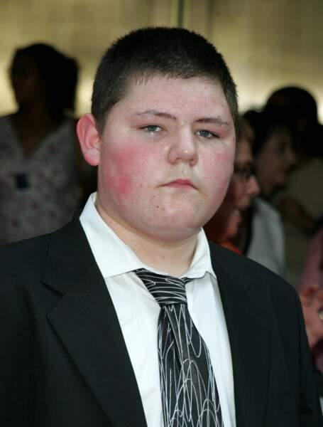 Jamie Waylett était Vincent Crabbe l'autre copain de Drago Malefoy dans Harry Potter
