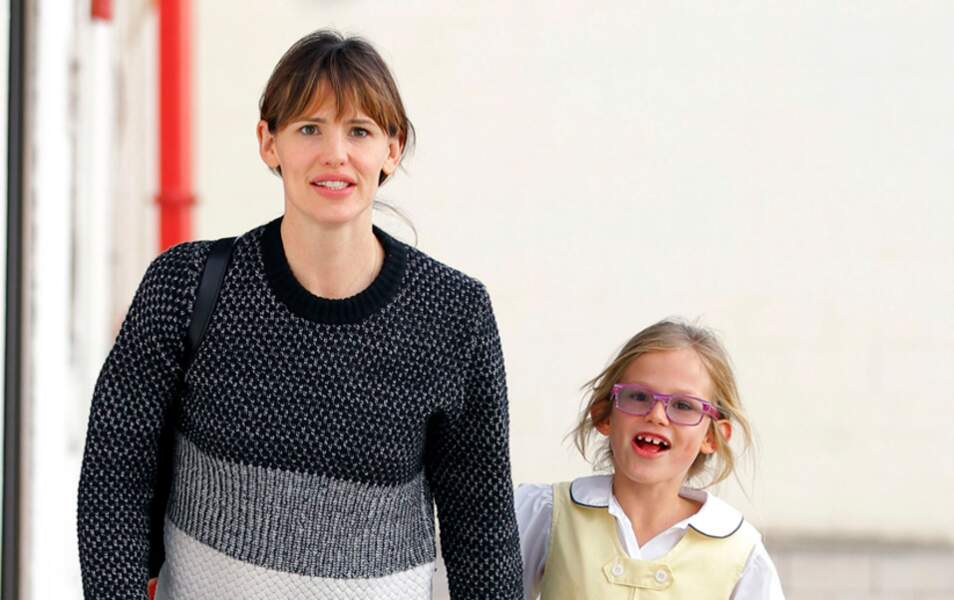 Jennifer Gardner et sa fille Violet