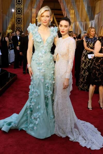 Cate Blanchett et Rooney Mara