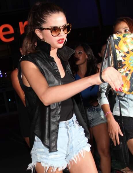 La chanteuse et actrice Selena Gomez